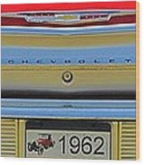 1962 Chevy Impala Ss Wood Print