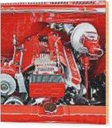 1962 Chevy Make-over Wood Print