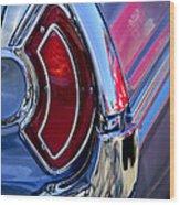 1962 Pontiac Catalina Convertible Taillight Wood Print