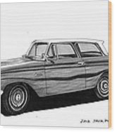 1962 Rambler American Wood Print