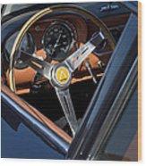 1963 Apollo Steering Wheel     Wood Print
