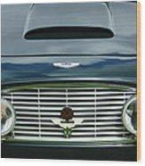 1963 Aston Martin Db4 Series V Vantage Gt Grille Wood Print by Jill Reger