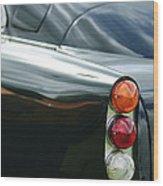 1963 Aston Martin Db4 Series V Vantage Gt Tail Light Wood Print by Jill Reger