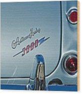 1963 Austin-healey Taillight Wood Print
