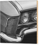 1963 Buick Riviera B/w Wood Print