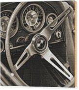1963 Chevrolet Corvette Wood Print
