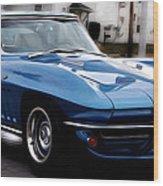 1963 Corvette Wood Print