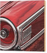 1963 Ford Galaxie 500 Wood Print