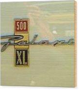 1963 Ford Galaxie Wood Print by Mark Dodd