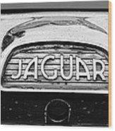 1963 Jaguar Back Up Light Wood Print