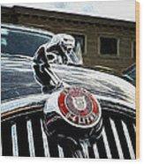 1963 Jaguar Mkii Fantasy Car Wood Print