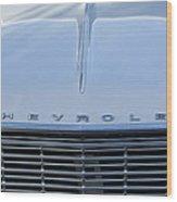 1964 Chevrolet El Camino Grille Wood Print