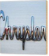 1964 Chrysler Emblem  Wood Print