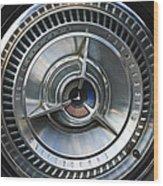 1964 Ford Thunderbird Wheel Rim Wood Print