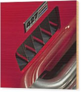 1965 427 Sc Cobra Reproduction 2 Wood Print