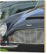 1965 Aston Martin Db6 Short Chassis Volante Wood Print