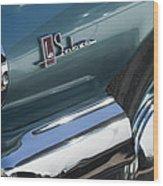 1965 Buick Lasabre Emblem Wood Print