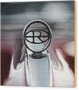 1965 Buick Riveria Hood Emblem Wood Print