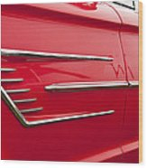 1965 Ford Thunderbird  Wood Print
