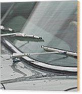 1965 Jaguar E-type Roadster Wipers Wood Print