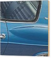 1966 Chevy Caprice Chevrolet Back Clip Wood Print