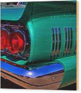 1966 Ford Thunderbird Wood Print