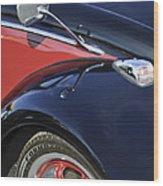 1966 Volkswagen Vw Bug Wood Print