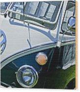 1966 Volkswagen Vw Microbus Wood Print