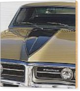 1967 Bronze Pontiac Firebird  Wood Print