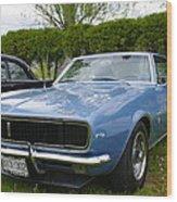 1967 Camaro Wood Print