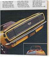 1967 Camaro Ss Wood Print