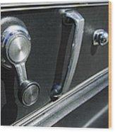 1967 Chevrolet Corvette Door Controls Wood Print