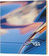1967 Chevrolet Corvette Hood Emblem Wood Print