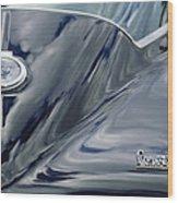 1967 Chevrolet Corvette Rear Emblem 2 Wood Print