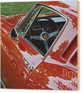 1967 Ferrari 275 Gtb4 Coupe Wood Print