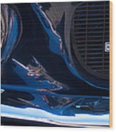 1967 Ford Mustang Shelby Gt500 Wood Print