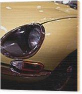1967 Jaguar E-type Series Wood Print