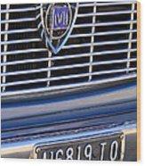 1967 Lancia Fulvia Berlina Grille Emblem Wood Print