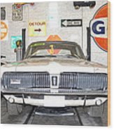 1967 Mercury Cougar Wood Print