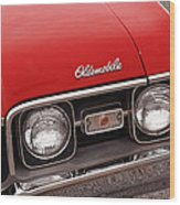 1968 Oldsmobile Cutlass Supreme Wood Print