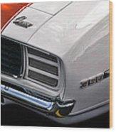 1969 Chevrolet Camaro Indianapolis 500 Pace Car Wood Print by Gordon Dean II