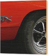 1969 Plymouth Gtx Hemi Wood Print