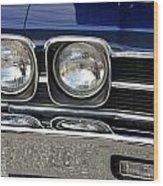 1970 Chevrolet Chevelle Antique Show Car Wood Print