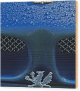 1970 Iso Rivolta Grifo Emblem 2 Wood Print