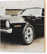 1970 Plymouth Cuda Wood Print by Phil 'motography' Clark
