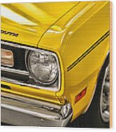 1970 Plymouth Duster 340 Wood Print