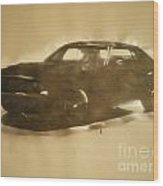 1971-dodge-challenger-rt Wood Print