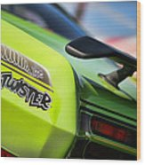 1971 Plymouth Duster Twister Wood Print