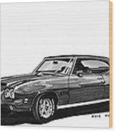 1971 Pontiac G T O Wood Print