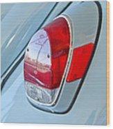 1971 Volkswagen Vw Beetle Taillight Wood Print